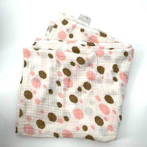 ADEN+ANAIS Cotton Muslin Wrap Swaddle Blanket Dots